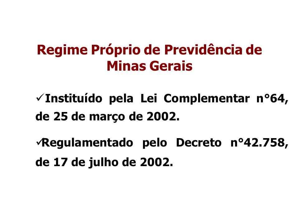 Regime Próprio de Previdência de Minas Gerais