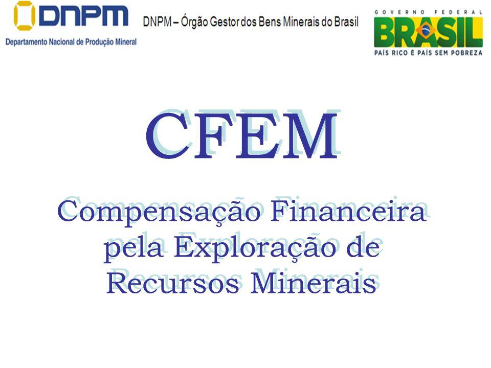Compensação Financeira pela Exploração de Recursos Minerais