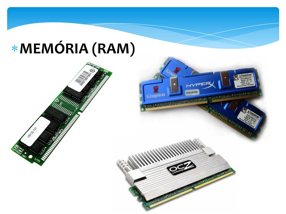 MEMÓRIA (RAM)