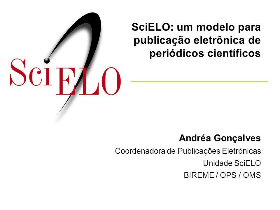 SciELO: um modelo para publicação eletrônica de periódicos científicos
