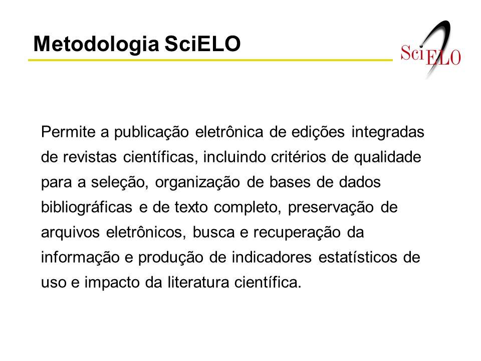 Metodologia SciELO