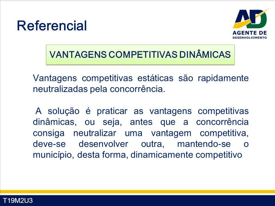 Referencial VANTAGENS COMPETITIVAS DINÂMICAS
