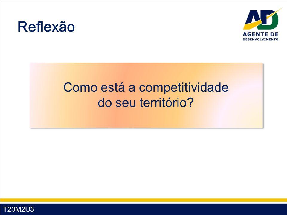 Como está a competitividade