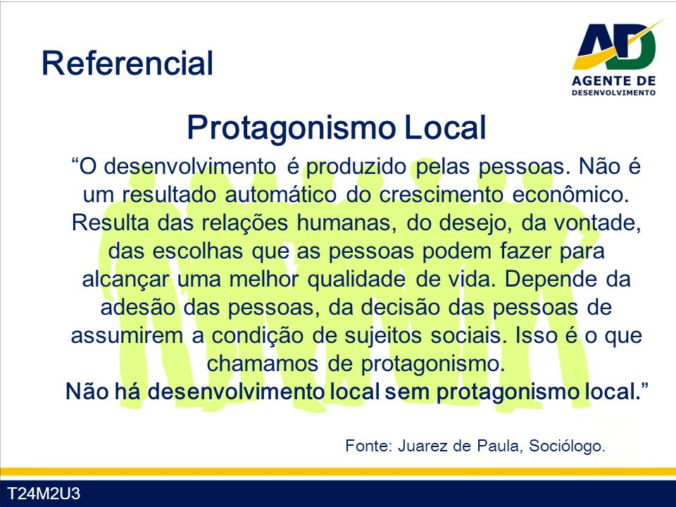 Referencial Protagonismo Local