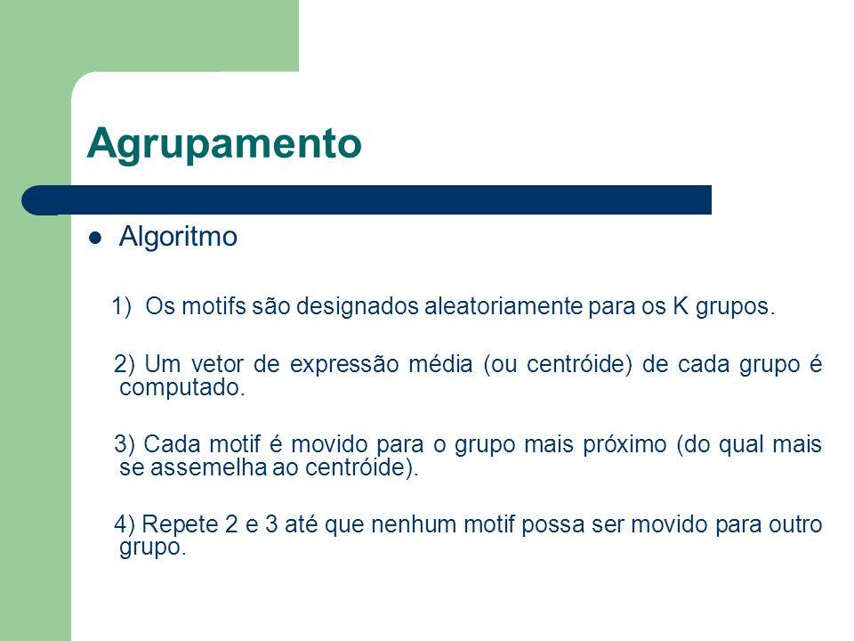 Agrupamento Algoritmo