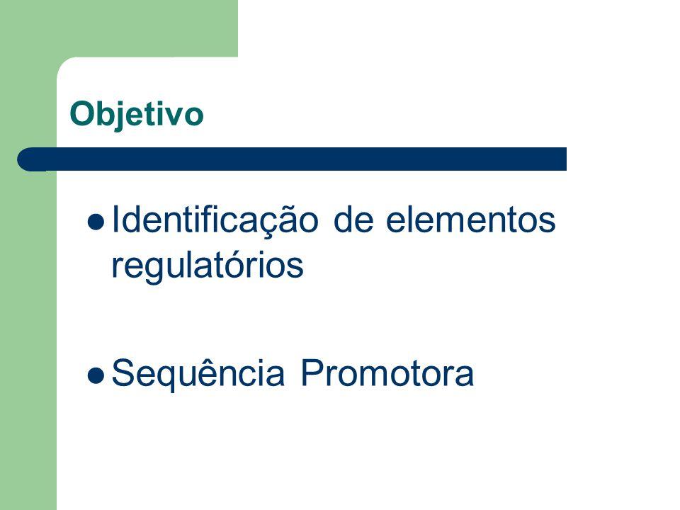 Identificação de elementos regulatórios