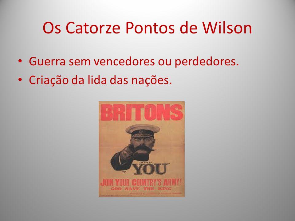 Os Catorze Pontos de Wilson