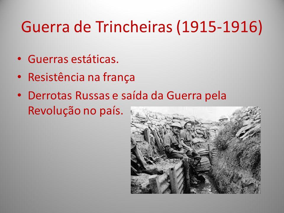 Guerra de Trincheiras (1915-1916)