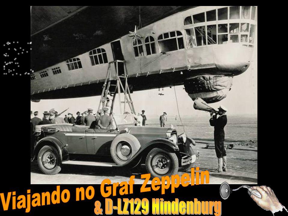 Viajando no Graf Zeppelin