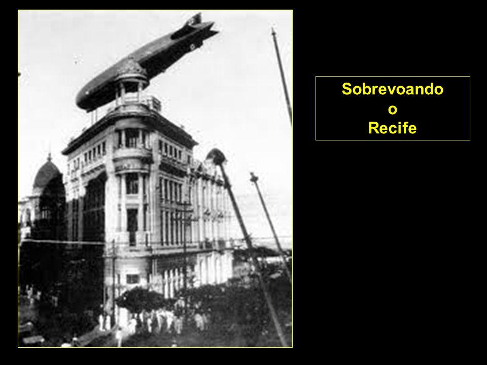 Sobrevoando o Recife