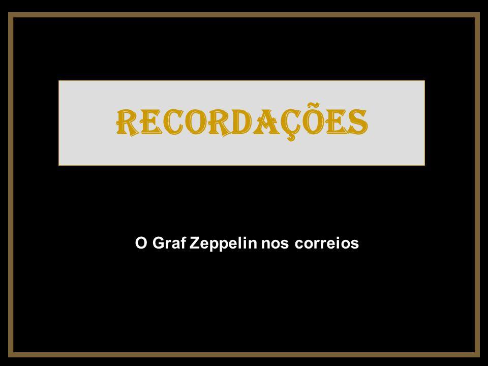O Graf Zeppelin nos correios