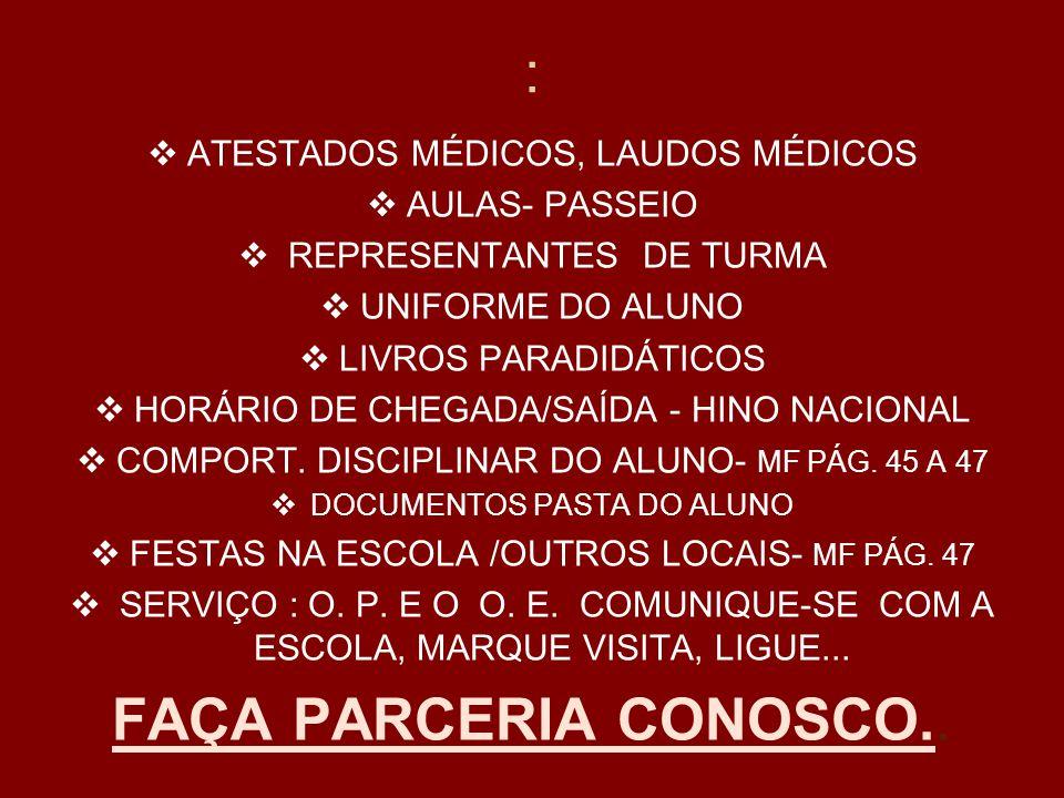 : FAÇA PARCERIA CONOSCO.. ATESTADOS MÉDICOS, LAUDOS MÉDICOS