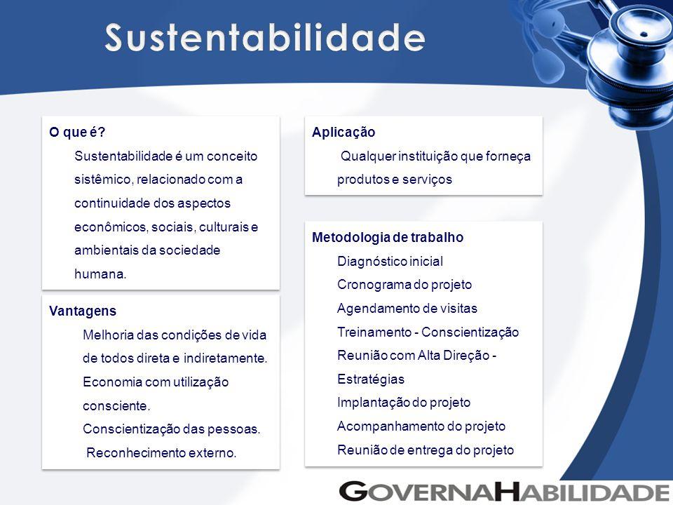 Sustentabilidade O que é