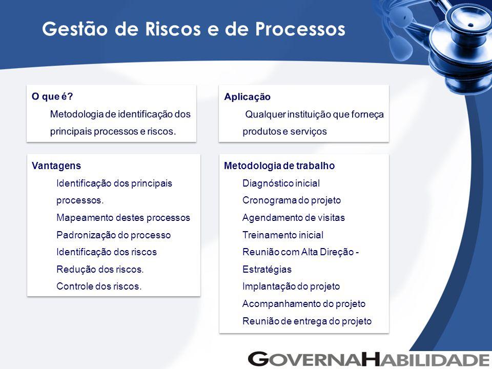 Gestão de Riscos e de Processos