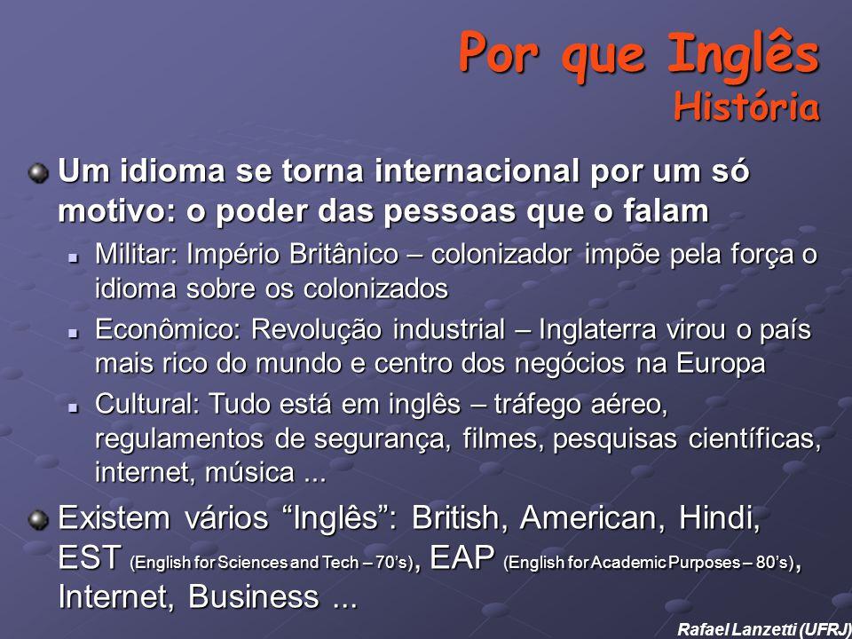 Por que Inglês História