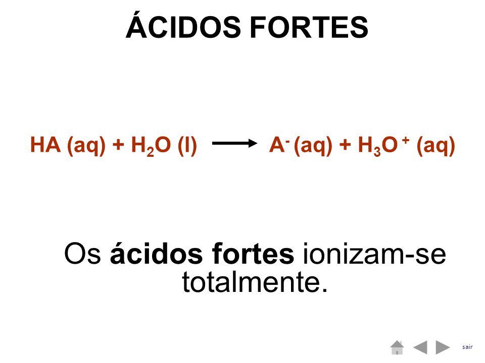 HA (aq) + H2O (l) A- (aq) + H3O + (aq)