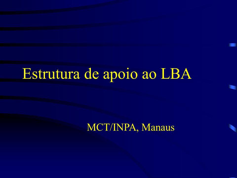 Estrutura de apoio ao LBA