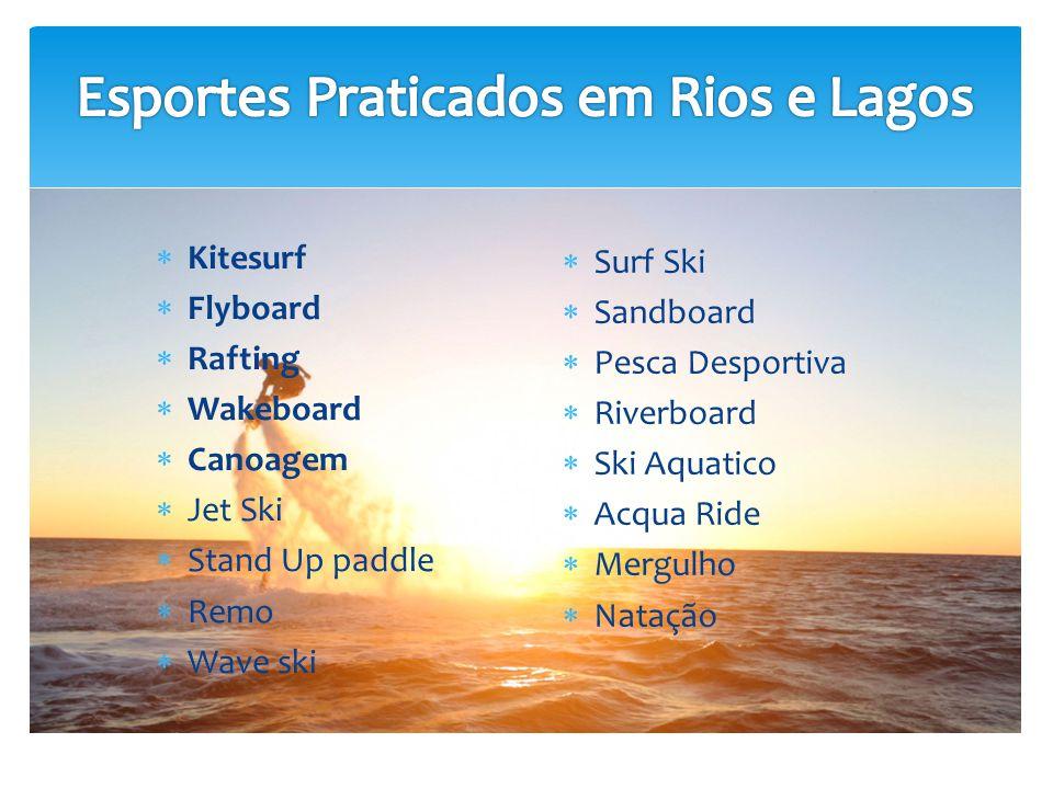 Esportes Praticados em Rios e Lagos
