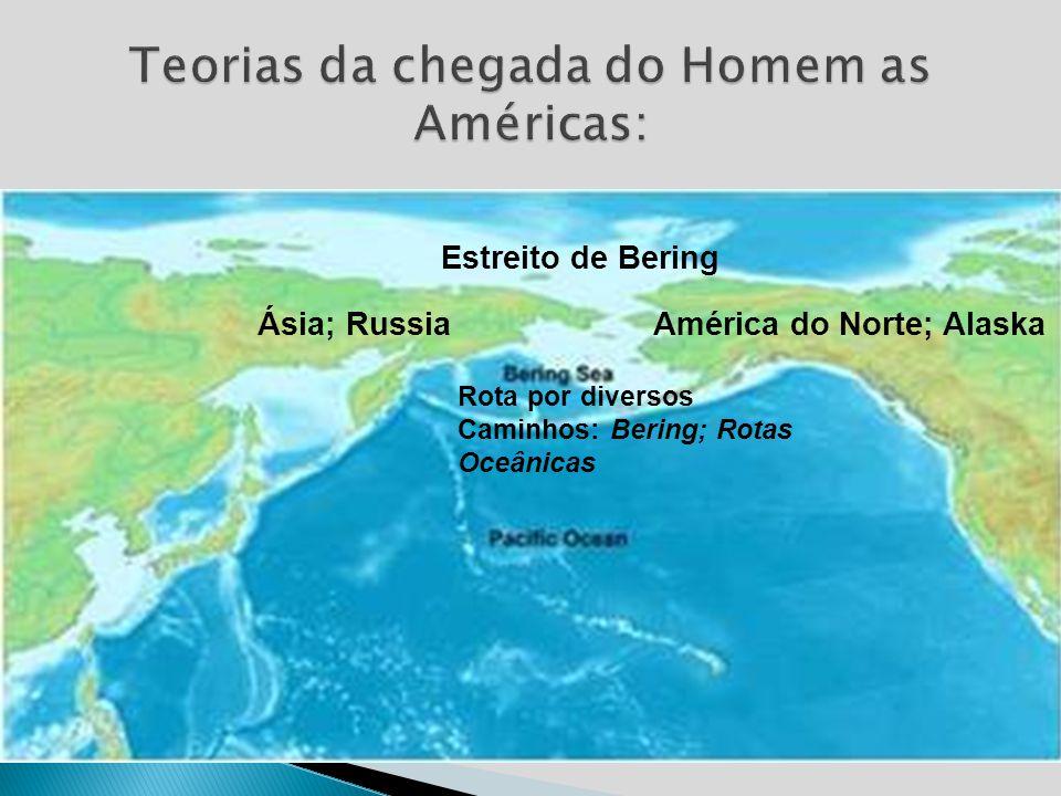 Teorias da chegada do Homem as Américas: