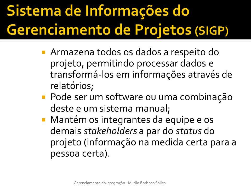 Sistema de Informações do Gerenciamento de Projetos (SIGP)