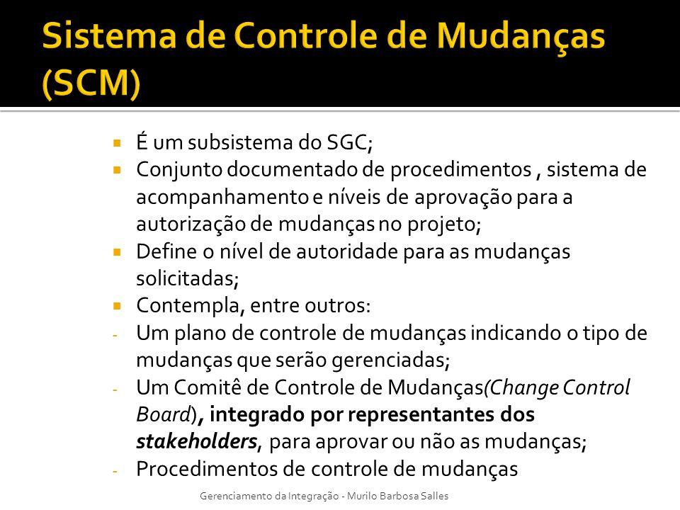 Sistema de Controle de Mudanças (SCM)