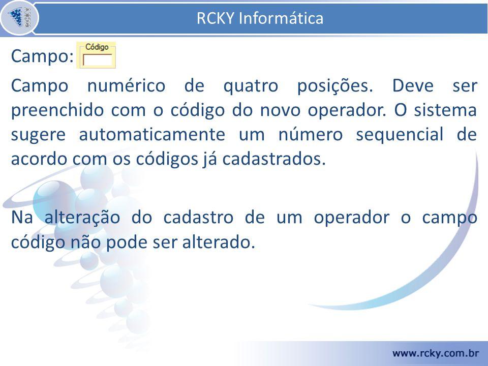 RCKY Informática Campo: