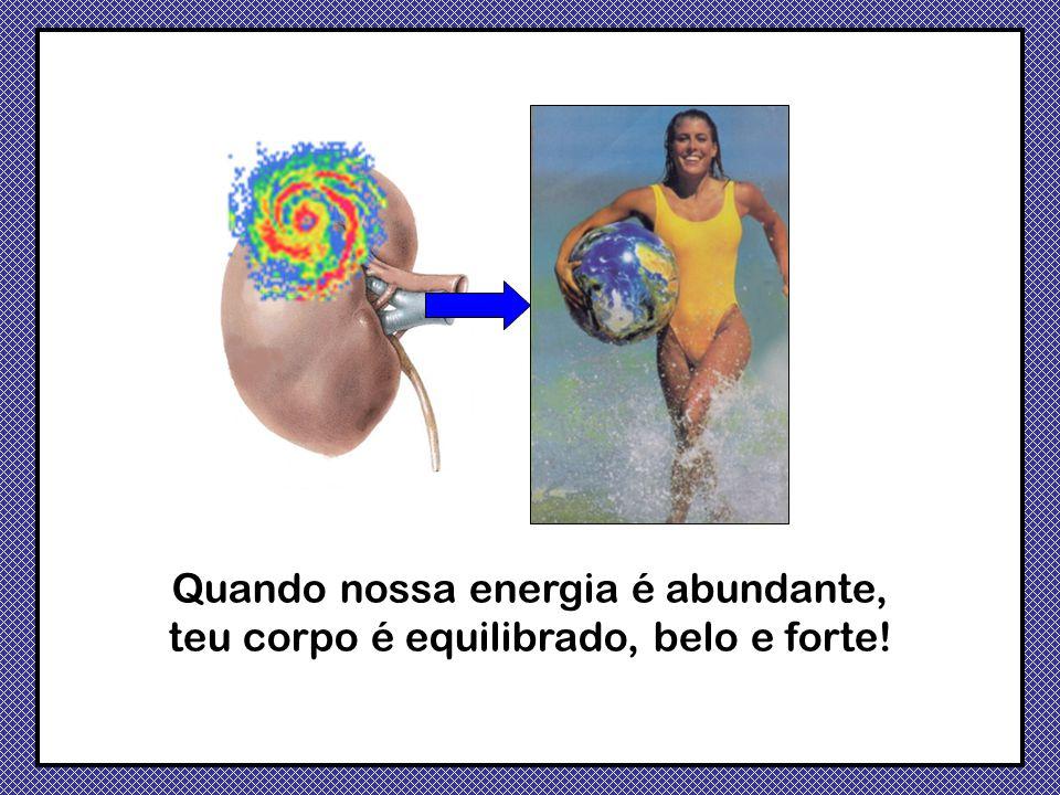Quando nossa energia é abundante, teu corpo é equilibrado, belo e forte!