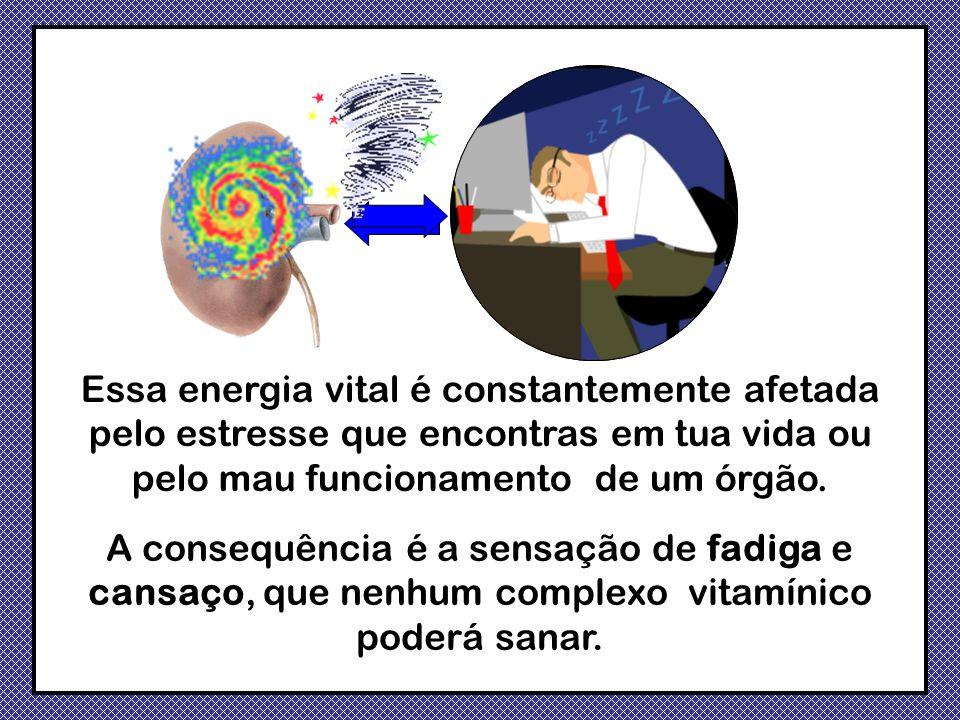 Essa energia vital é constantemente afetada pelo estresse que encontras em tua vida ou pelo mau funcionamento de um órgão.