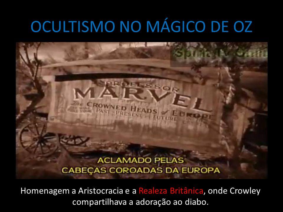 OCULTISMO NO MÁGICO DE OZ