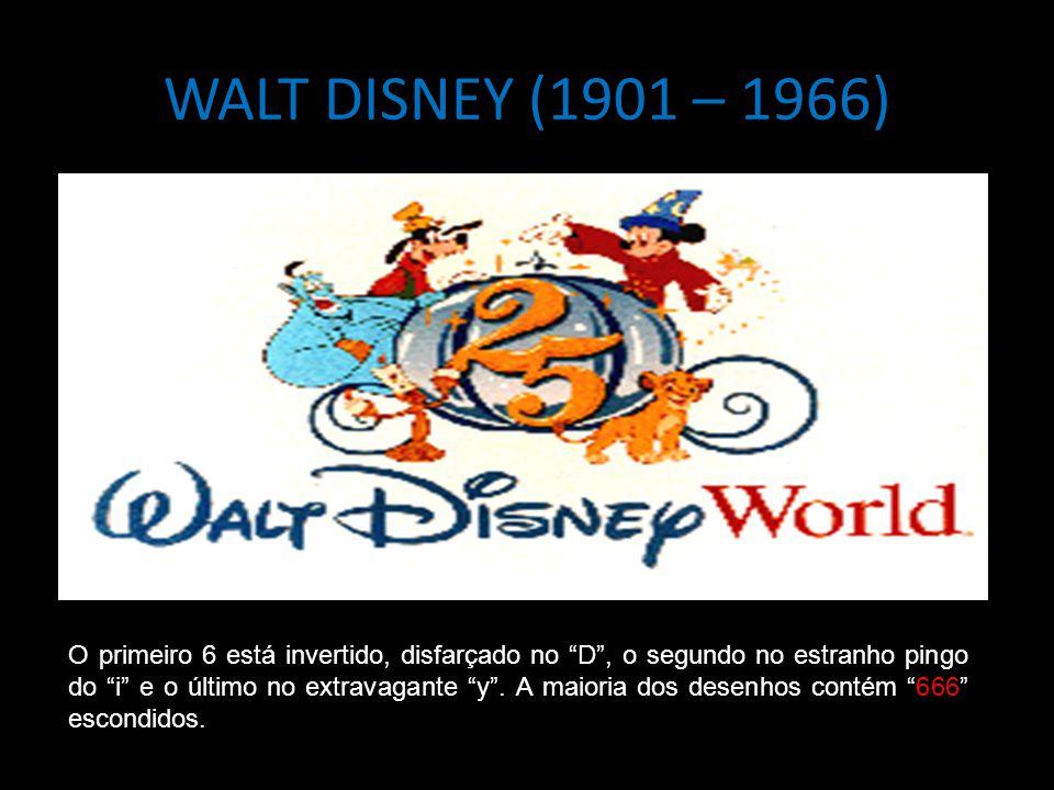 WALT DISNEY (1901 – 1966)