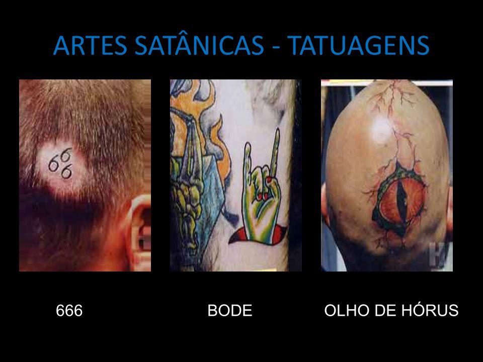ARTES SATÂNICAS - TATUAGENS