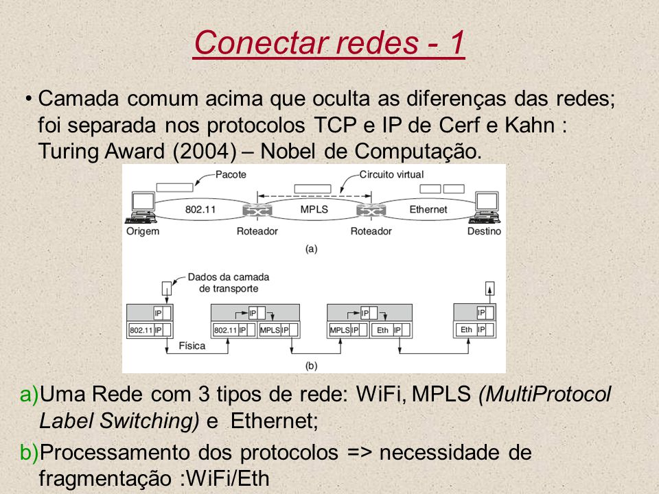 Conectar redes - 1