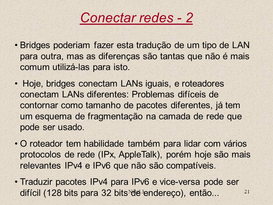 Conectar redes - 2