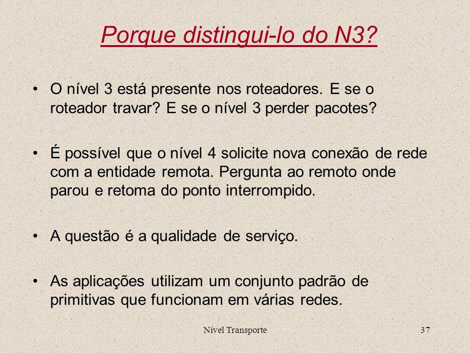 Porque distingui-lo do N3