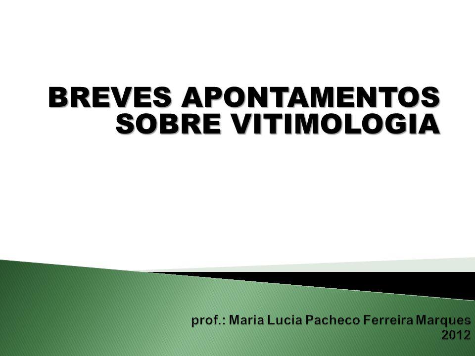 prof.: Maria Lucia Pacheco Ferreira Marques 2012