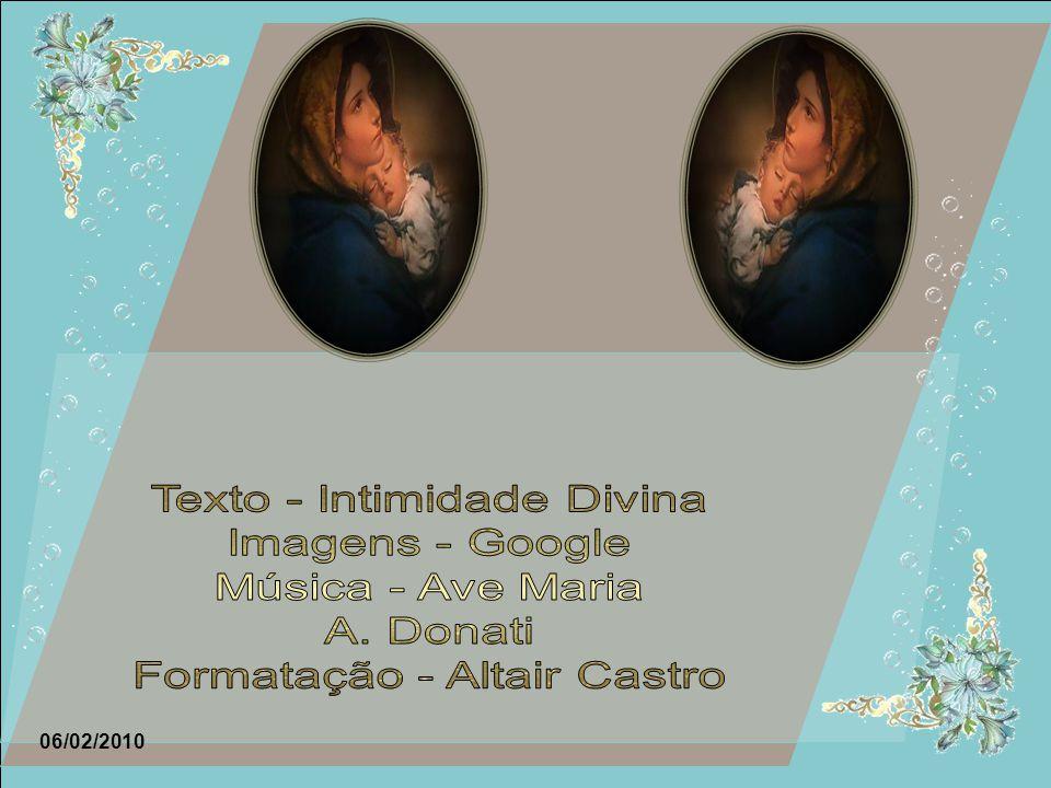 Texto - Intimidade Divina Imagens - Google Música - Ave Maria
