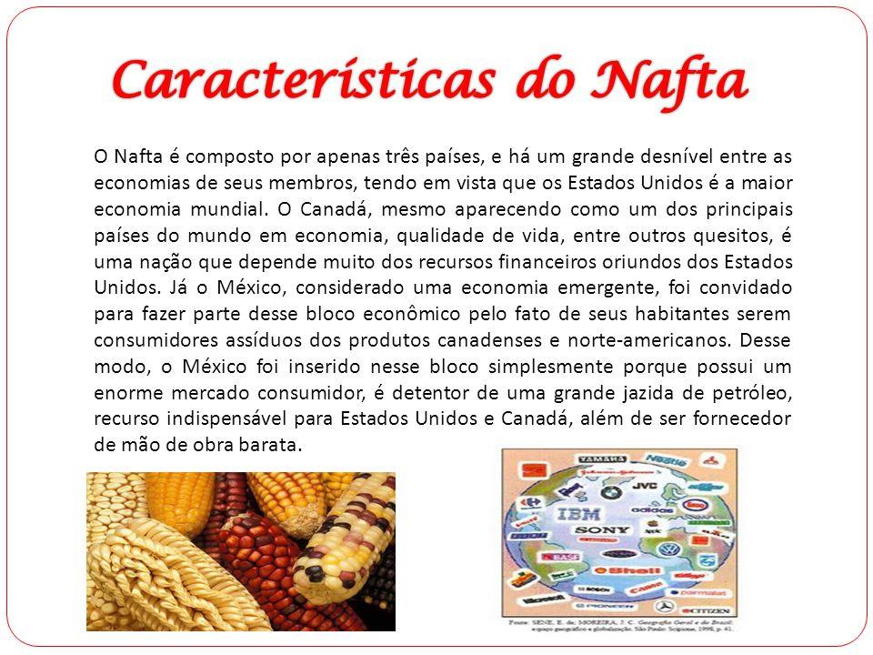 Características do Nafta