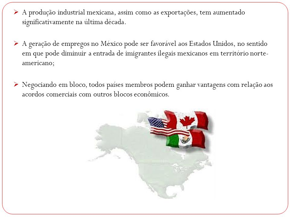 A produção industrial mexicana, assim como as exportações, tem aumentado significativamente na última década.