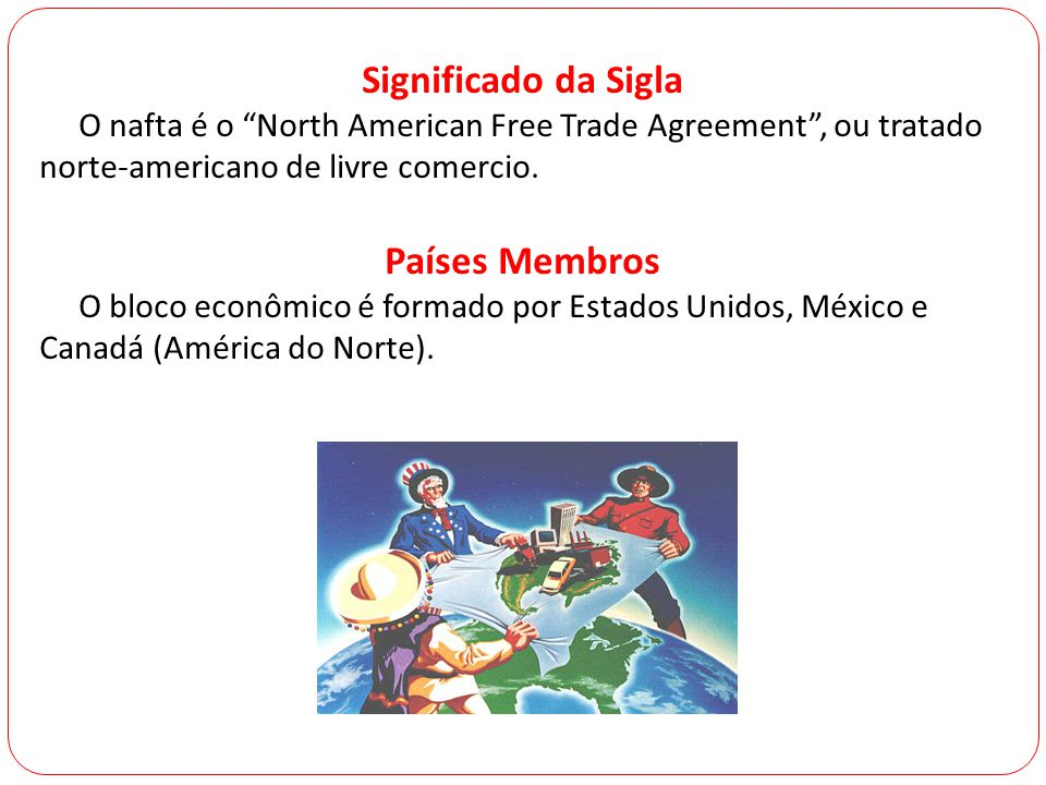Significado da Sigla Países Membros