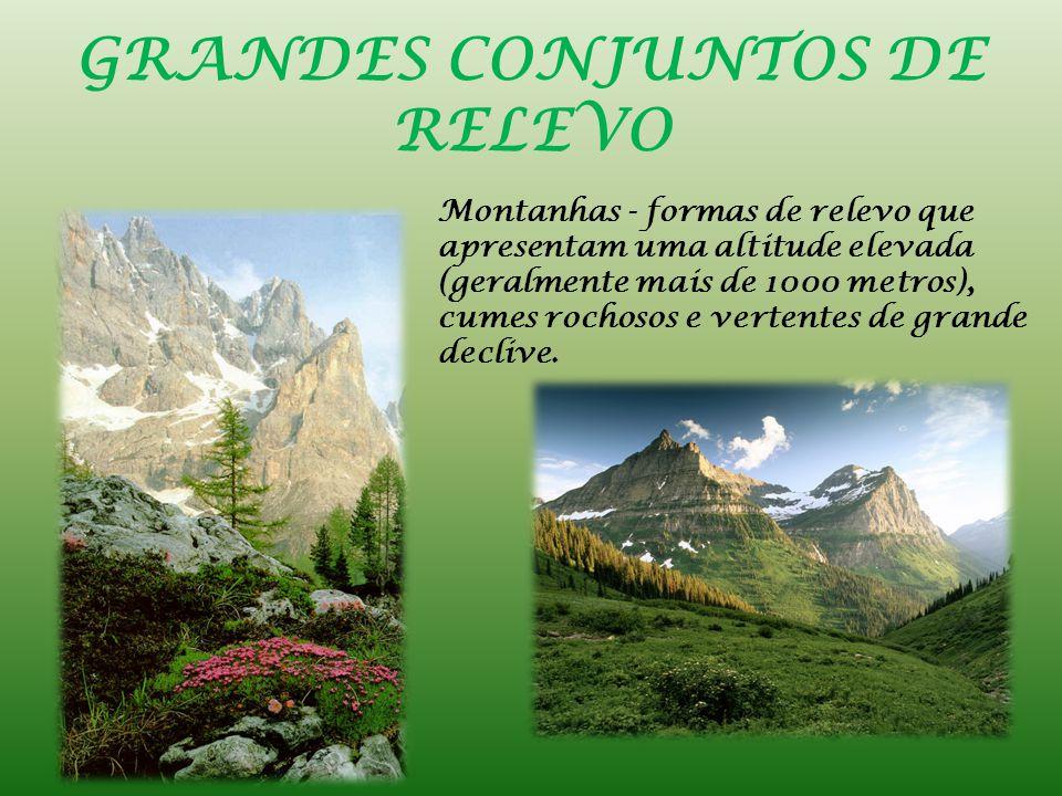GRANDES CONJUNTOS DE RELEVO