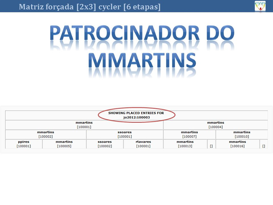 Patrocinador do mmartins