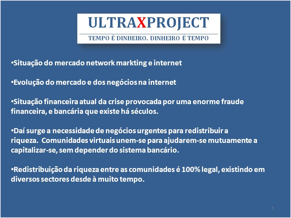 Situação do mercado network markting e internet