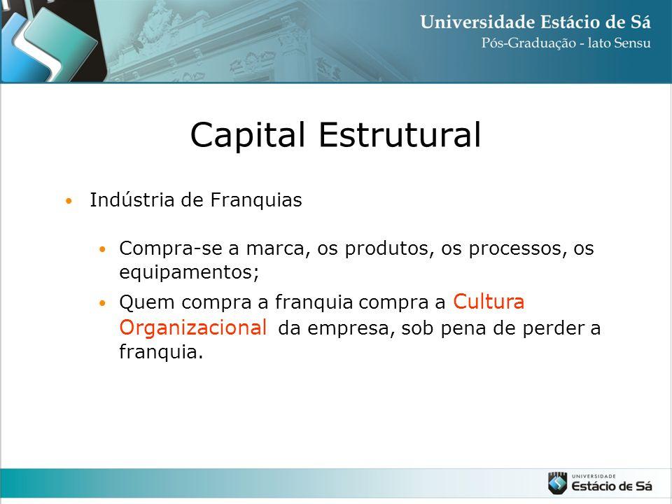 Capital Estrutural Indústria de Franquias