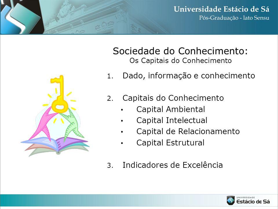 Sociedade do Conhecimento: Os Capitais do Conhecimento