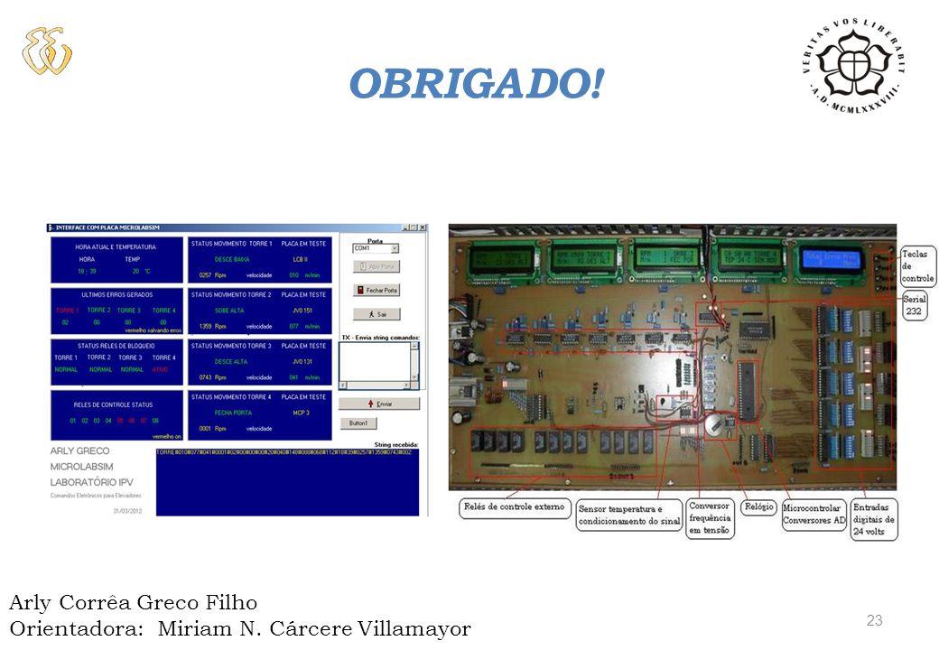 OBRAS CONSULTADAS BALBINOT A., BRUSAMARELLO V. J. – Instrumentação e Fundamentos de Medidas –V1 e V2 – 1ª Ed. – Rio de Janeiro: LTC, 2006 e 2007.