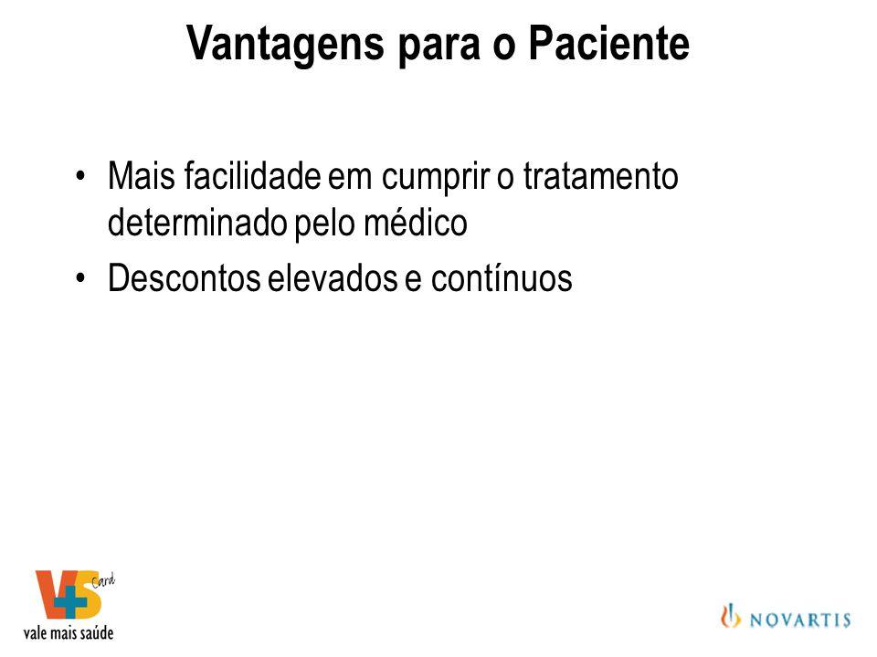 Vantagens para o Paciente