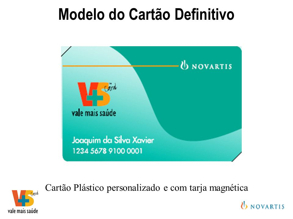 Modelo do Cartão Definitivo