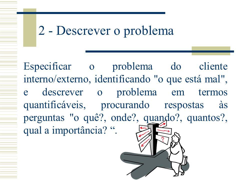 2 - Descrever o problema