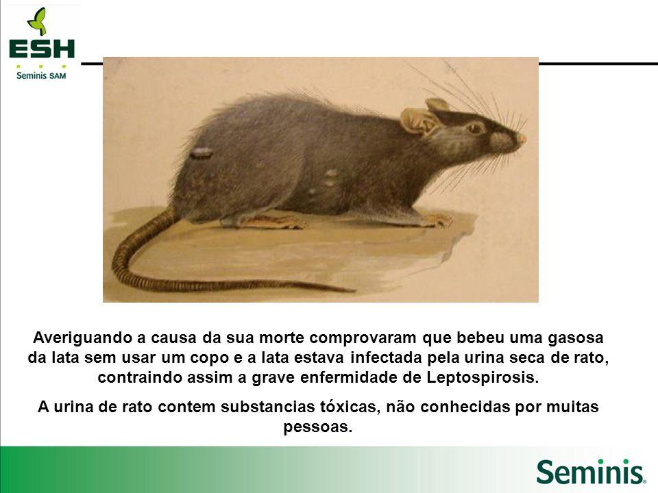 Averiguando a causa da sua morte comprovaram que bebeu uma gasosa da lata sem usar um copo e a lata estava infectada pela urina seca de rato, contraindo assim a grave enfermidade de Leptospirosis.