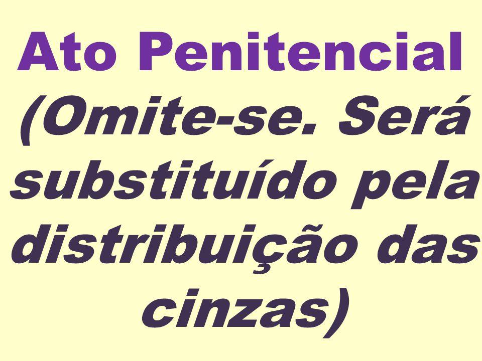 Ato Penitencial (Omite-se